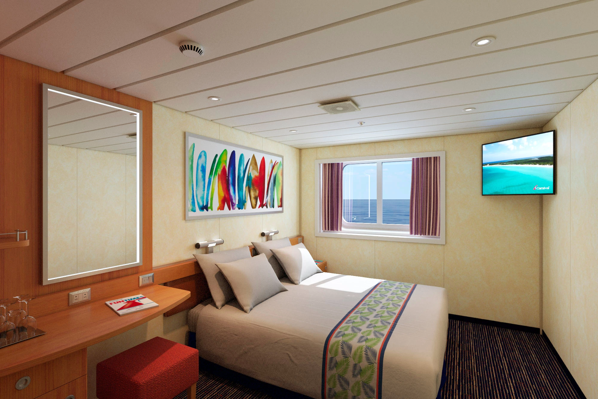 Ocean View Stateroom – [6A]