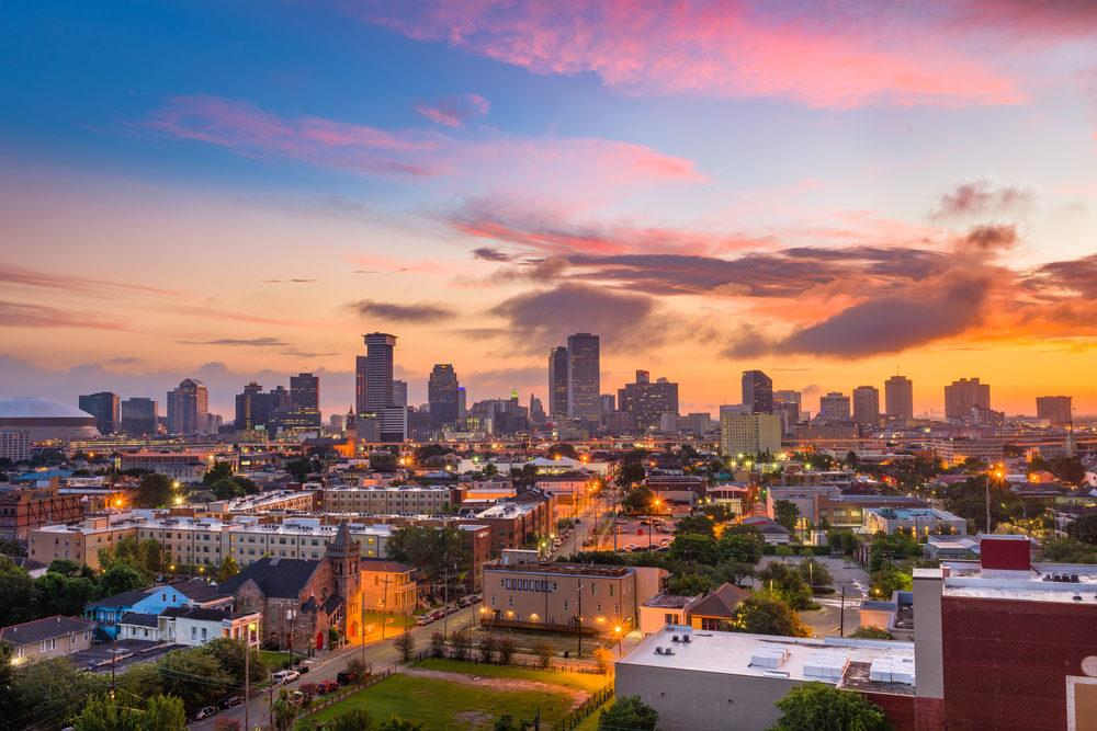 New Orleans, Los Angeles & Las Vegas