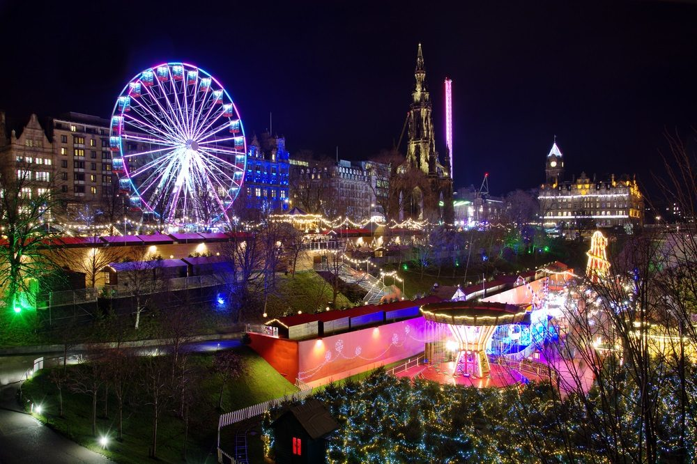 Edinburgh City & Christmas Markets