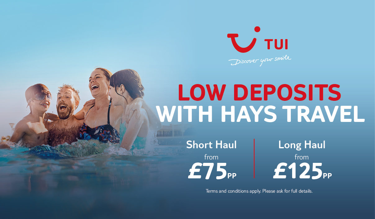 TUI Low Deposits