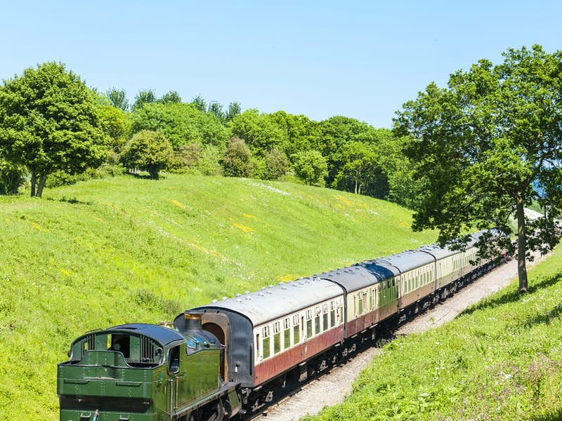 Blenheim Palace & Steaming through the Cotswolds