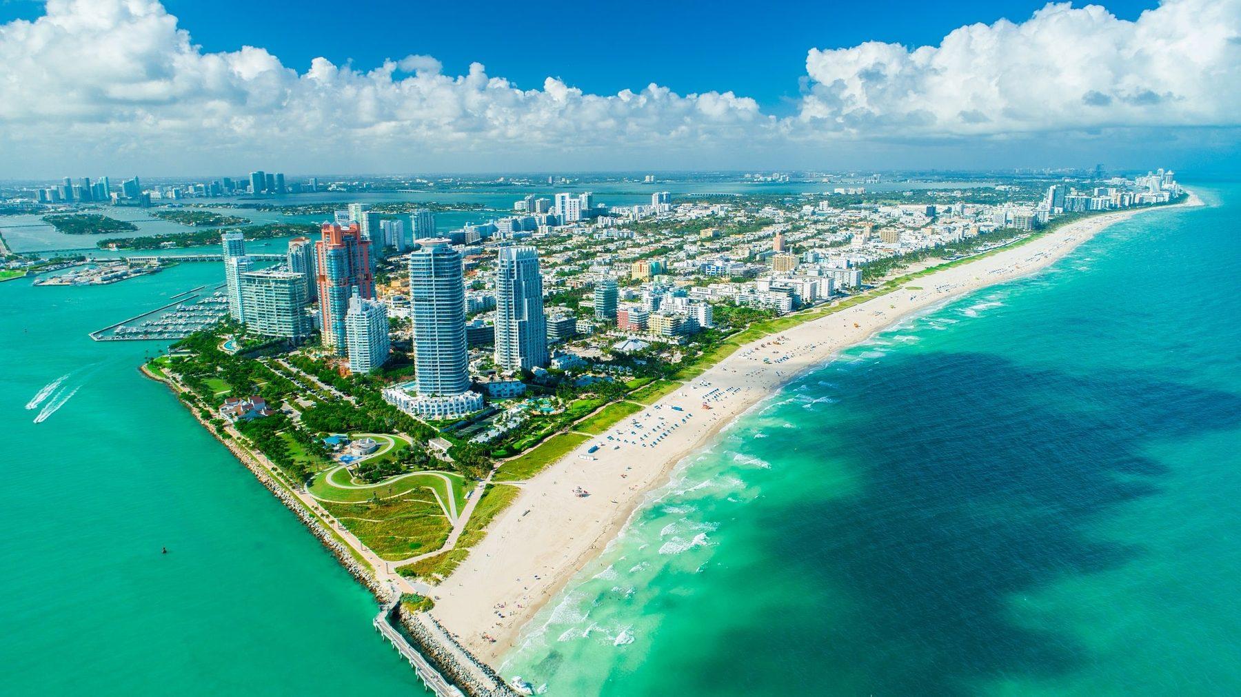 Miami, Orlando & New York