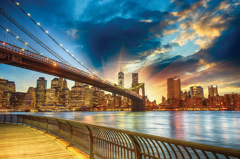 Boston & New York